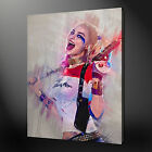 SUICIDE SQUAD HARLEY QUINN CANVAS PICTURE PRINT WALL ART FREE FAST DELIVERY