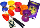 Kinder Diabolo Acrobat / Beginner Set + Aluhandstäbe, Diabolo-Holder + Lernfibel
