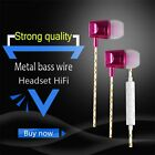 WP02 Super Bass 3.5mm Ports In-ear Wired Noise Cancelling HiFi Earphones L0