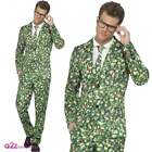 Mens Brussel Brussels Sprout Stand Out Suit Adult Fancy Dress Christmas Costume