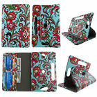 For for Polaroid 8 inch Tablet Leather Slim Folio Stand ID Slots Cover