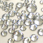1000 Crystal Clear Silver Flat Back Acrylic Rhinestones Diamante,Gems  3,4,5,6mm