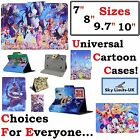 "Universal Cartoon Disney kids children Tablet case cover for 7 "" 8 9.7 10 inch"