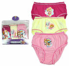 Girls Official Paw Patrol Pack of 3 Puppy Briefs Knickers 18 Months to 5 Years