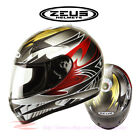 ZEUS ZS-2000 Motorcycle Full Face Helmet DOT Safety Approved