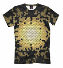 NEW All Over print lsd shirt colorful psychedelic tee cell Anunnaki pattern HQ