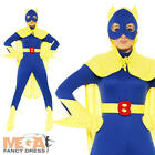 Bananawoman Ladies Comic Superhero Fancy Dress Female Bananaman Costume UK 8-14