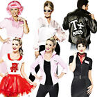 Grease 1950s Adult Fancy Dress Fifties Movie Character Mens Ladies 50s Costume