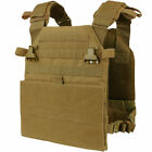 Condor VAS Vanquish Armor Plate Carrier System BLACK Conceal Compact MOLLE Vest