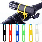 5pcs Silicone Rubber Cycling Bike Bicycle Holder Mount Tie Strap Elastic Bandage