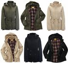 AERO Aeropostale Prince & Fox Hooded Lined Parka Jacket Coat  XS,S,M,2XL NEW NWT