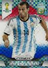 2014 Panini Prizm World Cup Brasil - Brazil '14 Base Plaid Parallel - (#1-50)