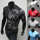 Details about  New Stylish Men's Cotton Short Sleeve Slim Fit Polo Shirt T-Shir