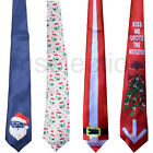Musical Flashing Light Up Tie Snowman Santa Christmas and new year Winter Party