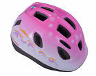 Raleigh Mystery Pink Helmet & Safety Knee Elbow Pads Set
