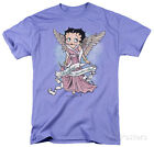 Betty Boop - Mother Guardian Angel Apparel T-Shirt - Lavender $16.99 USD