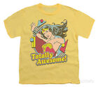awesome kids clothes - Youth: Wonder Woman - Totally Awesome Apparel Kids T-Shirt - Banana