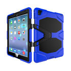 Shockproof Rugged Hybrid Hard Stand Defender Case Cover For iPad Pro Air Mini