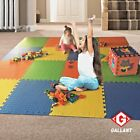 Eva Foam Mat Interlocking Kids Play Area Tiles Exercise Gym Garage Outdoor Soft