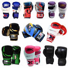 Boxing Gloves Martial Arts Muay Thai Kick Boxing Sparring Grappling Gloves MMA