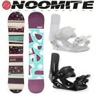SNOWBOARD SET HEAD ROSE FLOCKA A 138 + ATTACCHI NOOMITE