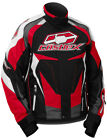 CastleX Mens Red/Black/White Charge G3 Snowmobile Jacket Snow Snocross