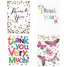 Thank You Cards & Envelopes - Choice Of Style & Quantity - Individually Wrapped