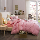 Pink Girls King Single Double Size Quilt Doona Duvet Cover Sets Bed Pillowcases