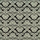 DAMASK BLACK WHITE A QUILT SEWING FABRIC *Free Oz Post