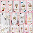 Glitter Luxury Bling Diamonds ring stand hard back Phone Cover Case for Huawei 4
