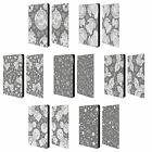 HEAD CASE SILVER HOLIDAY COLLECTION LEATHER BOOK CASE FOR APPLE iPAD MINI 4