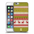 HEAD CASE DESIGNS KNITTED CHRISTMAS GEL CASE FOR APPLE iPHONE 6 PLUS / 6S PLUS