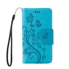 Luxury Many Butterfly Wallet Leather Flip  Case Cover Stand For Lenovo A1000 K5