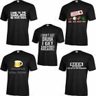 Beer Lover Drunk Alcohol Funny Beer Joke Love Drinking Party I Love Beer T Shirt