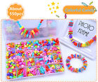 New DIY String Beads Make Up Puzzle Toys Handmade Jewelry Educational Block Toy