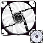 3-Pin/4-Pin 120mm PWM PC Computer Case CPU Cooler Cooling Fan with LED Light NEW