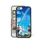 Taki Mitsuha Your Name Cover for Iphone 7/6 plus/5se&S6/7 edge Note 5 Phone Case