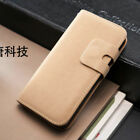 Flip Case r Leather Wallet Cover For Apple iPhone 4 5 5S + Free Screen Protector