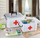 Large Capacity Household Medicine First Aid Medical  Storage Box for Health Care