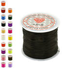 50M Strong Stretch Elastic Cord Wire rope Bracelet Necklace String Bead 0.5mmO1N