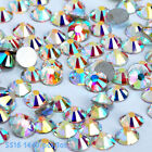 Clear AB Crystal Rhinestones Non Hot Fix Crystal Craft for Nail Art