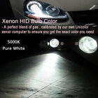 Xenon Replacement Lights HID DC 55W Kit Hi Lo Dual Beam H13 9008 3000k Yellow Z1