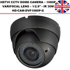 HD-TVI 1080P Varifocal 2.1MP CCTV Dome Camera Lens 2.8-12mm Night vision 30m IR
