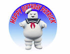 Ghostbusters Stay Puft Marshmallow man Party icing sheet Birthday Party Cake