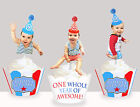 Baby Girl boy Babies first 1st birthday party Cupcake Toppers cup cake