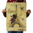 Any Style Oil Art Paintings Home Bar Decoration Chart Kraft Paper Retro Poster