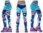 Fitness American Football NFL Pants Sports Leggings Yoga Pants Women Run
