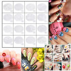 Nail Art Printing Plate Image Stamping Plates Manicure Template With Handle O6