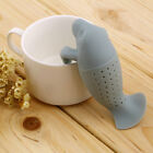 Silicone Manatee  Diffuser Infuser Loose Tea Leaf Strainer Herbal Spice FilterF0