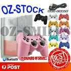 1x Wireless Bluetooth Game Joypad Controller for Sony PS3 + USB Cables